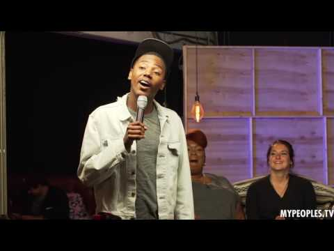 Comedian Jarrod Carmichael Performs Some Stand-up