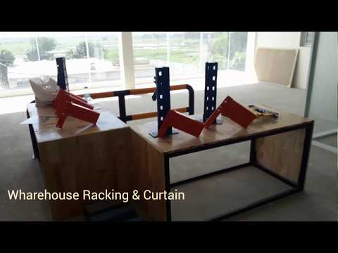 Warehouse Racking & Decoration Curtain