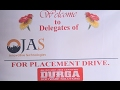 JAS For Palcement Drive in DURGASOFT!!!