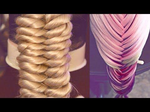 9 уроков - Косы - Причёски РЕМ