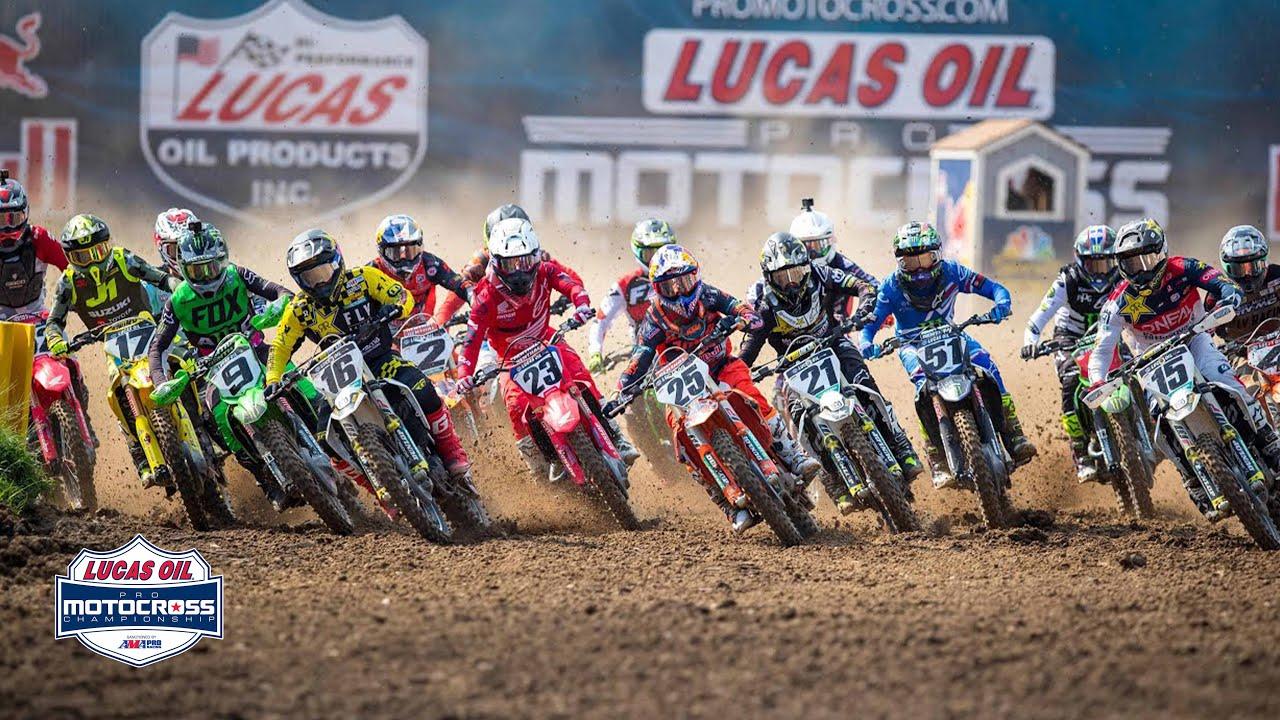 Lucas Oil Pro Motocross Round 1 Highlights