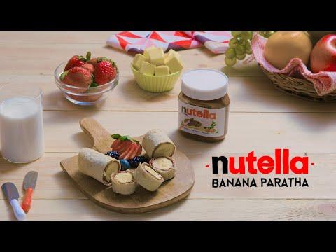 Nutella Banana Paratha | Nutella Breakfast Recipes