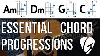 Chord Progression Practice - Am Dm G C