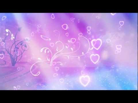 (Pre-release) Flourishes and Hearts Valentines Day Background Motion Graphic Free Download