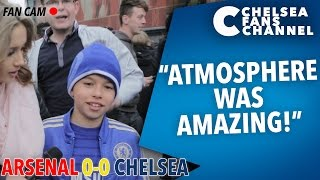 """ATMOSPHERE WAS AMAZING!"" - Arsenal 0-0 Chelsea - FAN CAM"