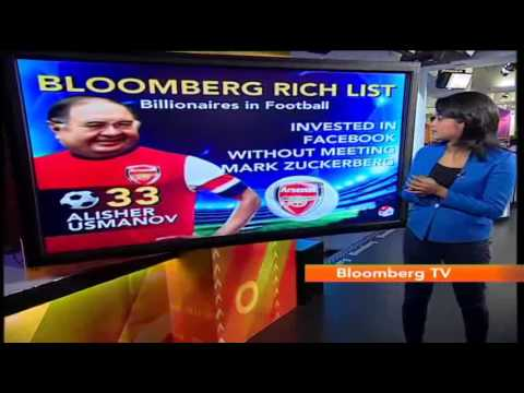 In Business - Bloomberg Rich List: Billionaires In Football