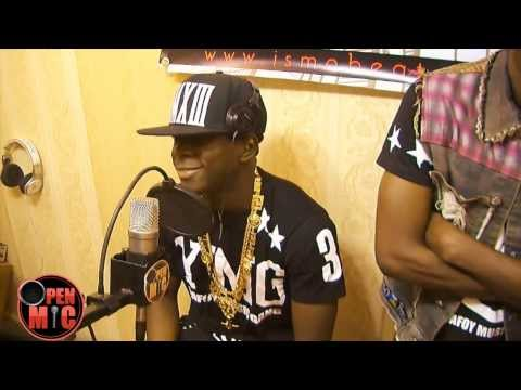 Didi B de la Kiff no beat en freestyle à Open Mic