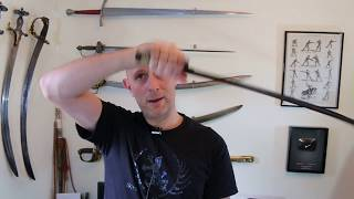 Arabic and Persian Swordsmanship Exercise