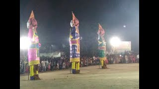 Rawan dahan Jhansi  ( रावण दहन झांसी प्रेम नगरा ) 45 feet high