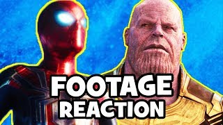 AVENGERS INFINITY WAR Footage Spoiler-Free Reaction & Review