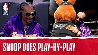 Snoop Dogg Talks Lake-Show in San Antonio