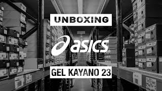 Unboxing the ASICS Gel Kayano 23 TRIPLE WHITE | SportsShoes.com
