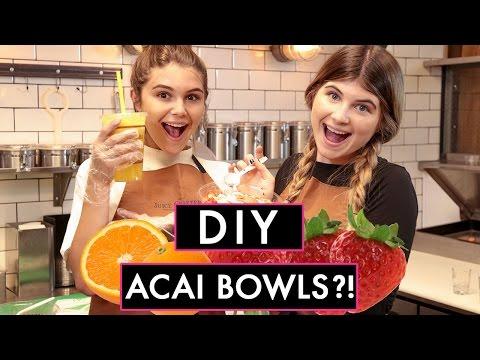 OLIVIA JADE's ACAI BOWL CHALLENGE! | LA Made w/ Olivia Jade