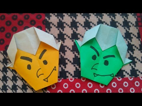 How to make paper Dracula  || Halloween Ideas || in HD