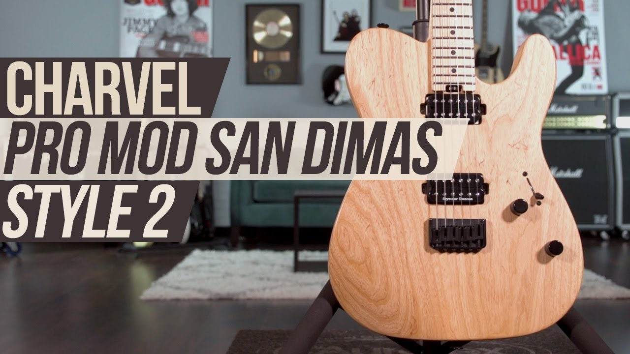 Charvel Guitars Pro Mod San Dimas Style 2 Hh Ht M Ash Guitar Youtube Wiring Diagram