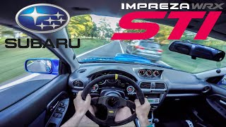 SUBARU IMPREZA WRX STI 2003 (330hp) [RAW POV] - FR Exhaust Race Pipe