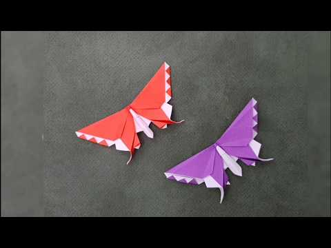 Origami Butterfly 🦋 Time-lapse