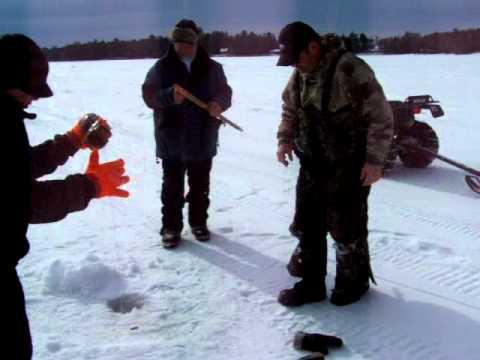 Pt 1 nh winnipesaukee ice fishing derby 2011 haulin for Ice fishing nh