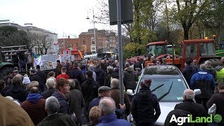 AgriLand talks to Mattie McGrath at the 'Tractor Protest' in Dublin city centre