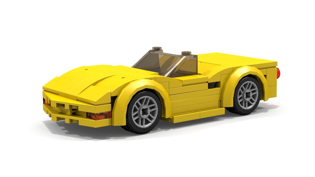 How To Build Lego Chevrolet Corvette C5 Convertible Youtube