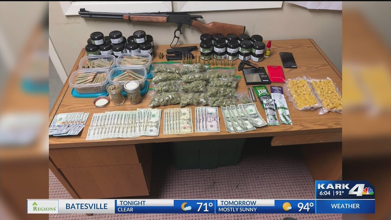 England PD finds man sleeping in truck, makes big drug bust