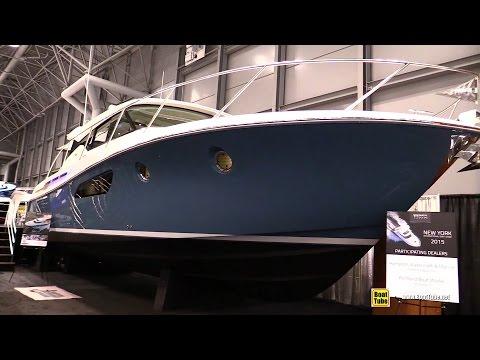 2015 Tiara 44 Coupe Motor Yacht - Walkaround - 2015 New York Boat Show