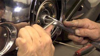 Delboy's Garage, Harley Softail Service #3, Clutch Adjustment.