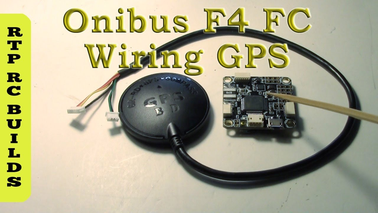 Wiring GPS to Omnibus F4 Flight Controller and Configuring iNav Firmware