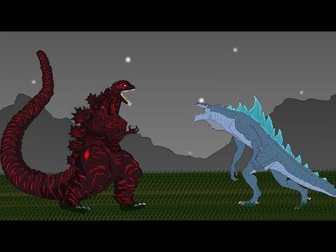 Shin Godzilla Vs Zilla Jr, Godzilla Earth, Mega Kaiju | Godzilla Cartoons