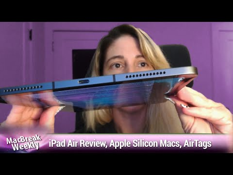 Emmy Drenched - iPad Air Review, Apple Silicon Macs, AirTags