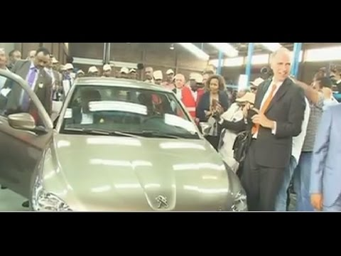 peugeot opens assembly plant in tigray, ethiopia