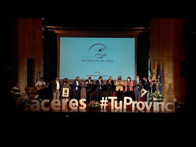 Gala de entrega Premios San Pedro de Alcántara 2021