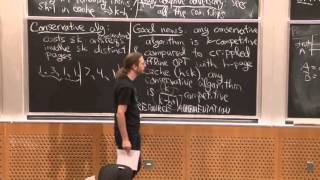 Lecture 24 11/11: Online Algorithms: Paging
