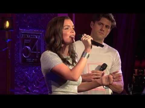 "Jennifer Damiano reunited with Aaron Tveit and Alice Ripley - ""Superboy and the Invisible Girl"""