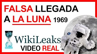 FALSA llegada a la LUNA 1969  ► Video del rodaje revelado por WIKILEAKS  ????