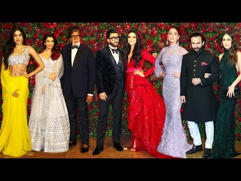 Bollwyood Stars At Deepika Padukone & Ranveer Singh's Final WEDDING/Marriage Party Complete Video HD Mp3