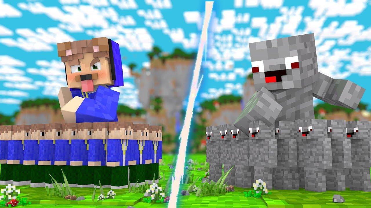 ALPHASTEIN ARMEE VS EPICSTUN ARMEE YouTube - Alphastein skin fur minecraft pe