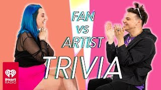 YUNGBLUD Goes Head to Head With His Biggest Fan | Fan Vs Artist Trivia