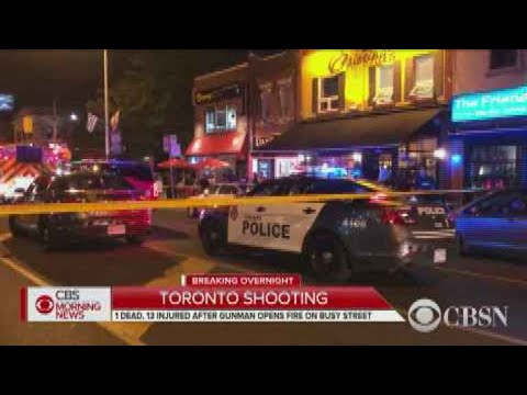 Mass shooting in Toronto leaves 1 dead, 13 wounded