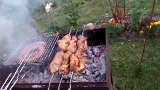 Будни Дачника 23 Блины на завтрак Велоремонт Разнообразие блюд на мангале Дачный вечер и ужин