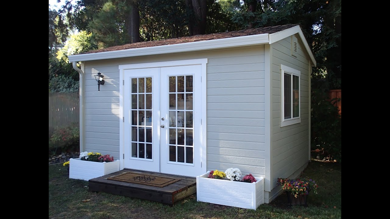 """The """"Studio"""" - Built by The Shed Shop - YouTube"""