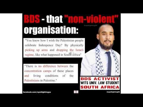 Rashaad Yusuf Dadoo - BDS-SA activist