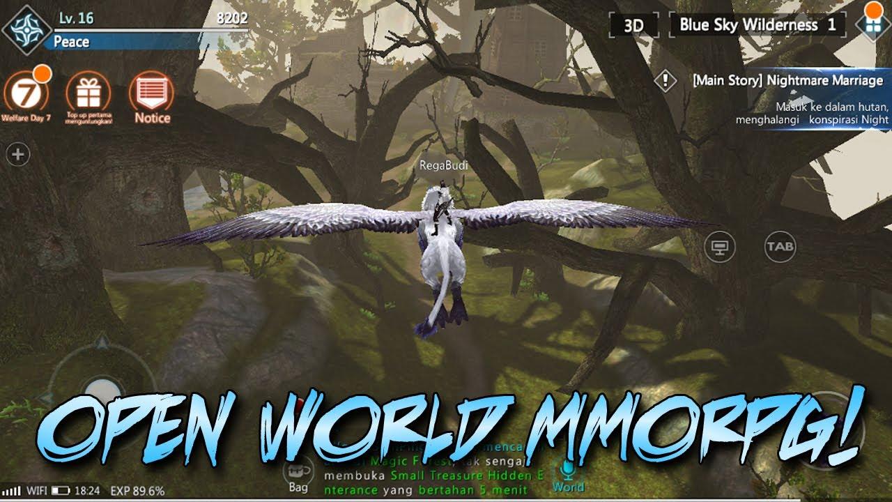Game Android Keren Bahasanya Indonesia Bisa Terbang Open World Mmorpg