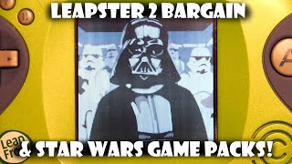 Leapster 2 Bargain and Star Wars Cartridges