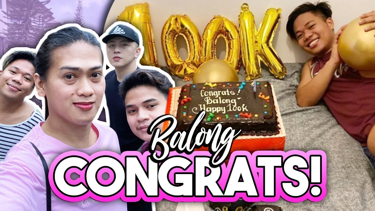SURPRISE 100K SUBSCRIBERS CELEBRATION FOR BNT BALONG! ❤️