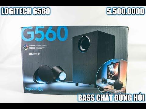[Review] Logitech G560 Speaker - Bass Lực Rung Nhà