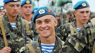 Украинские десантники на передовой. Слава ВДВ! Слава Украине!