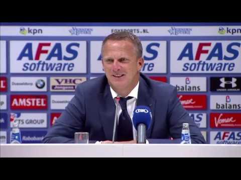 Persconferentie Van den Brom & Van Bronckhorst   AZ - Feyenoord