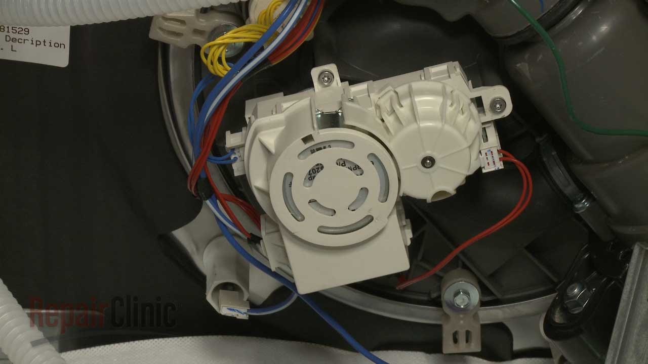 Kitchenaid Dishwasher Diverter Motor Replacement