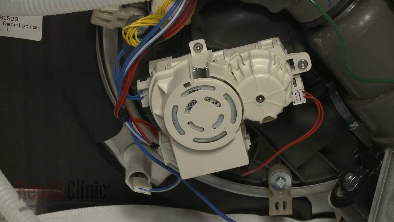 Valve Wiring Diagram Kitchenaid Dishwasher Diverter Motor Replacement